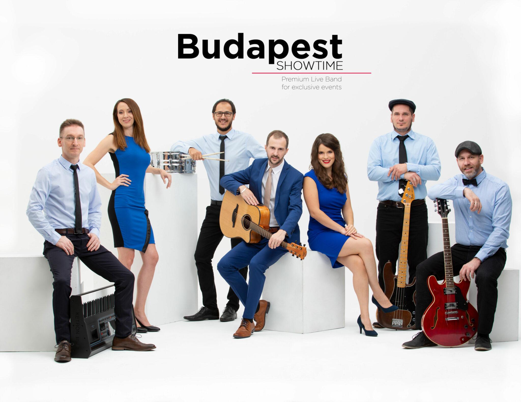 Budapest Showtime │ Prémium Zenekar Esküvői és céges rendezvényre │ 100% Élőzene 2